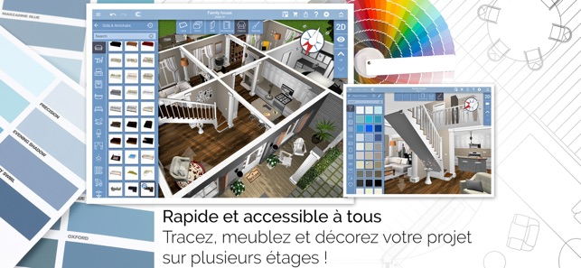 home design 3d dans l app store. Black Bedroom Furniture Sets. Home Design Ideas