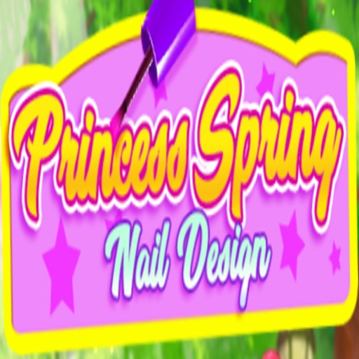 Princess-Spring-Nail-Design