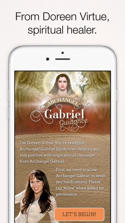 Archangel Gabriel Guidance - Doreen Virtue screenshot-4