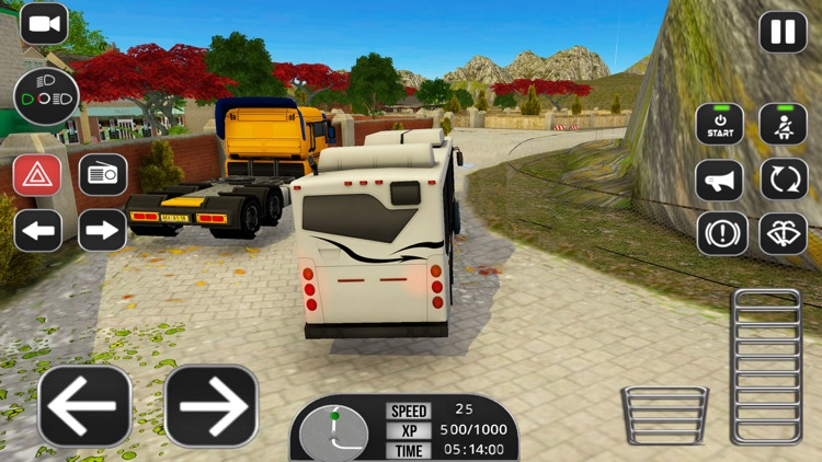 Coach Bus Driver Academy 3D screenshot-4