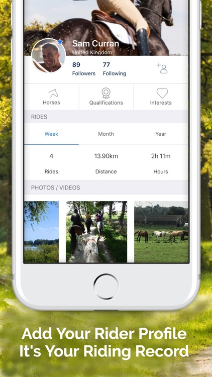 Huufe: The Horse Riders App screenshot-3