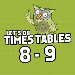 Times Tables Ages 8-9