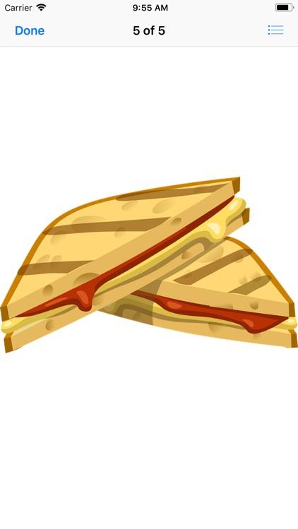 Scrumptious Sandwich Stickers screenshot-5