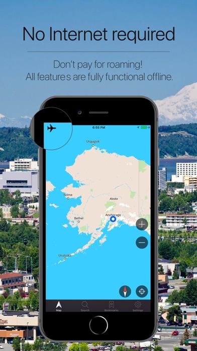 Alaska, USA Offline Navigation-0
