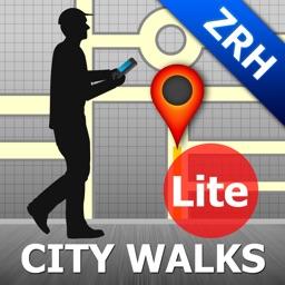 Zurich Map and Walks