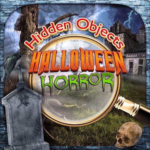 Hidden Objects Halloween Haunted Horror Mystery