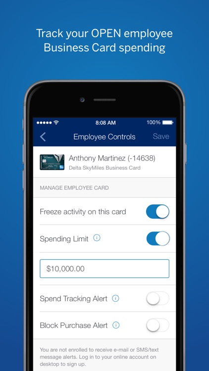 American Express Spend Manager screenshot-3
