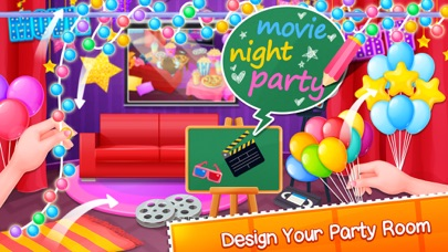 Crazy Movie Night Party screenshot one