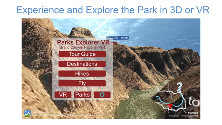 Parks Explorer VR Grand Canyon screenshot-0