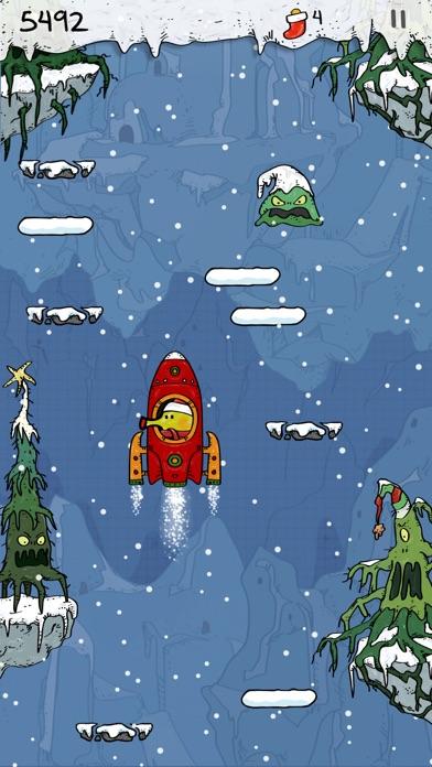 Doodle Jump Christmas PLUS Screenshot