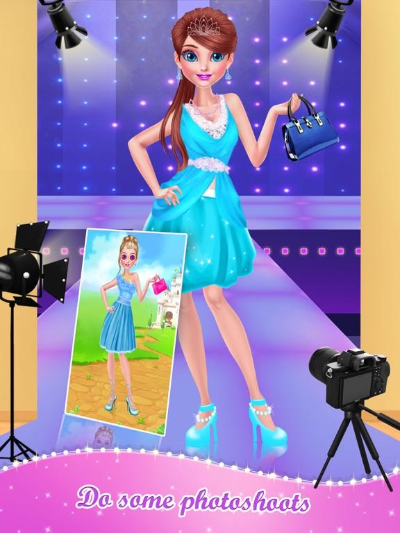 Screenshot 4 For Supermodel Dress Up And Makeup