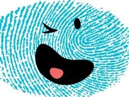 Fingerprint Me Stickers!