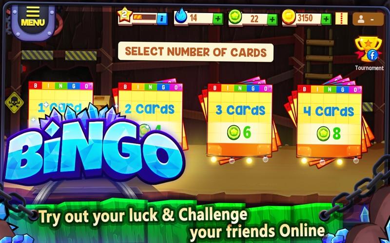 Bingo Gems Screenshot