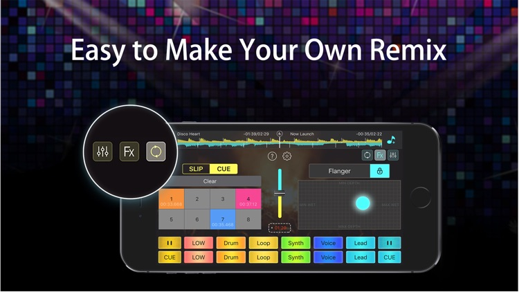 DJ Mixer Studio:Remix Music screenshot-1