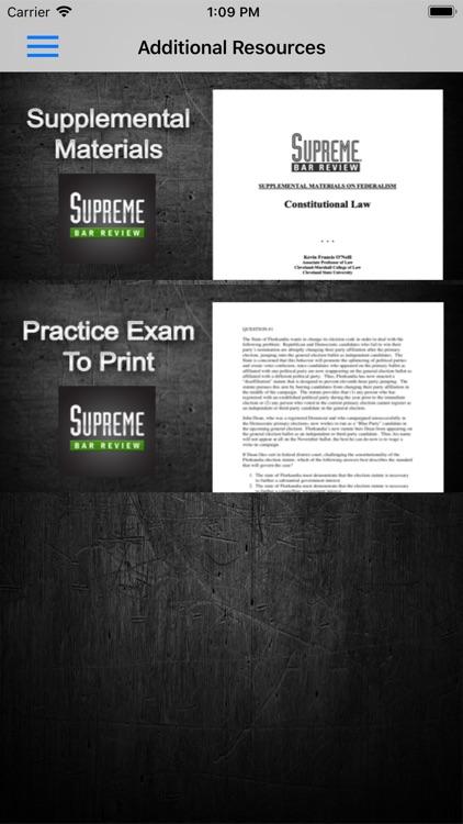 Constitutional Law Supreme Bar screenshot-7