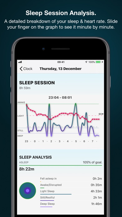 Screenshot of AutoSleep Tracker for Watch App