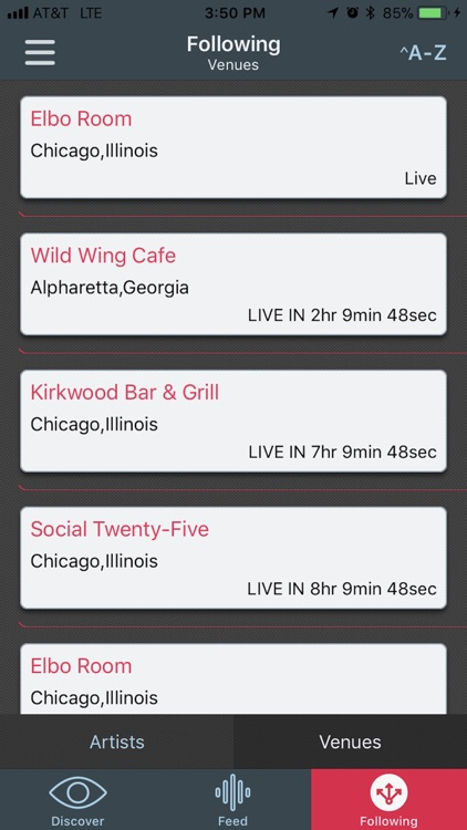 ShowMaster - Live Music Guide