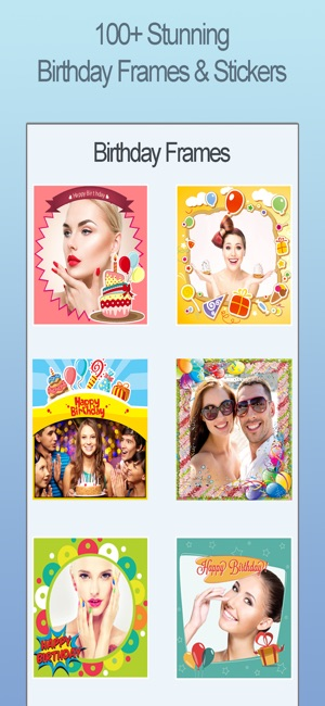 Happy Birthday Photo Frames FX on the App Store