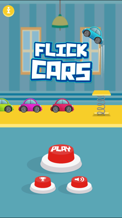 Flick Cars : Endless Arcade Toy Car Jump Racing HD