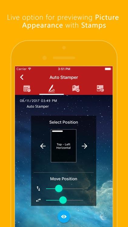 Auto Stamper: Timestamp Camera screenshot-4