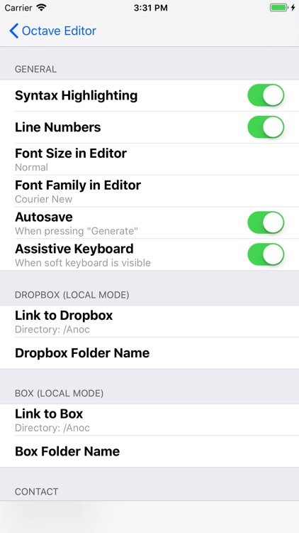 Anoc Pro Octave Editor screenshot-4