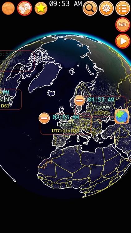Clocks of Cities Pro screenshot-4