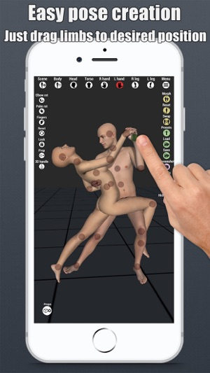‎3D Art pose tool apps collection for artists