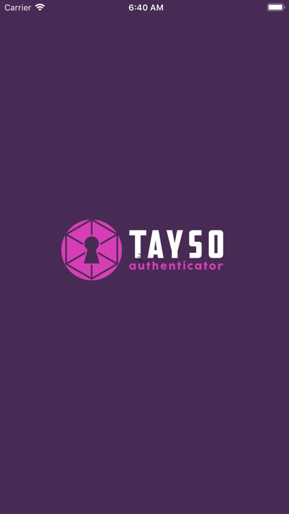 Tayso Authenticator