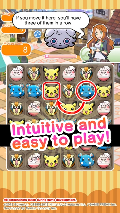 Pokémon Shuffle Mobile for Pc