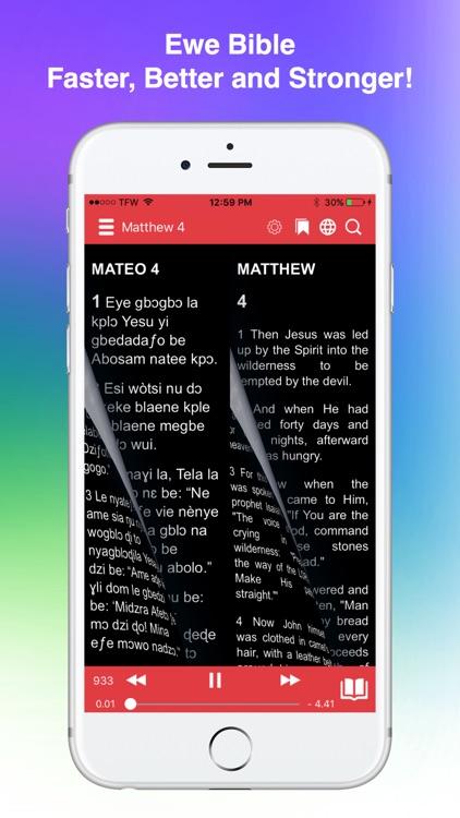 Ewe Bible Audio screenshot-3