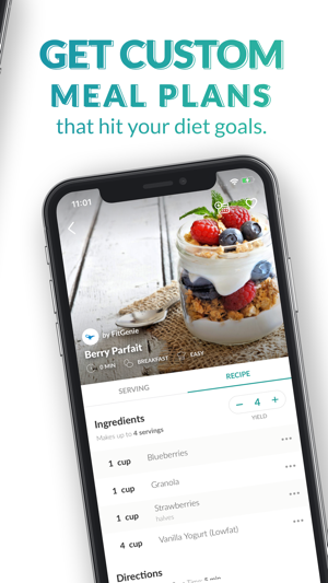 Fitgenie magic meal planner on the app store forumfinder Choice Image