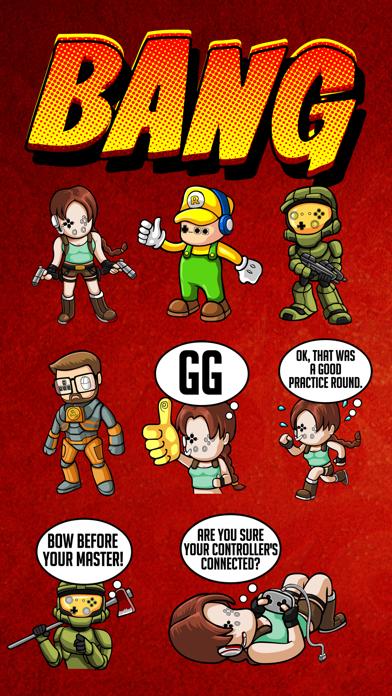 Gamer Emoji - iMessage Sticker