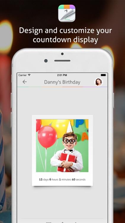 Countdown+ Calendar (Lite) screenshot-3