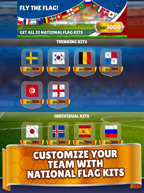 Kings of Soccer - PvP Football на iPad