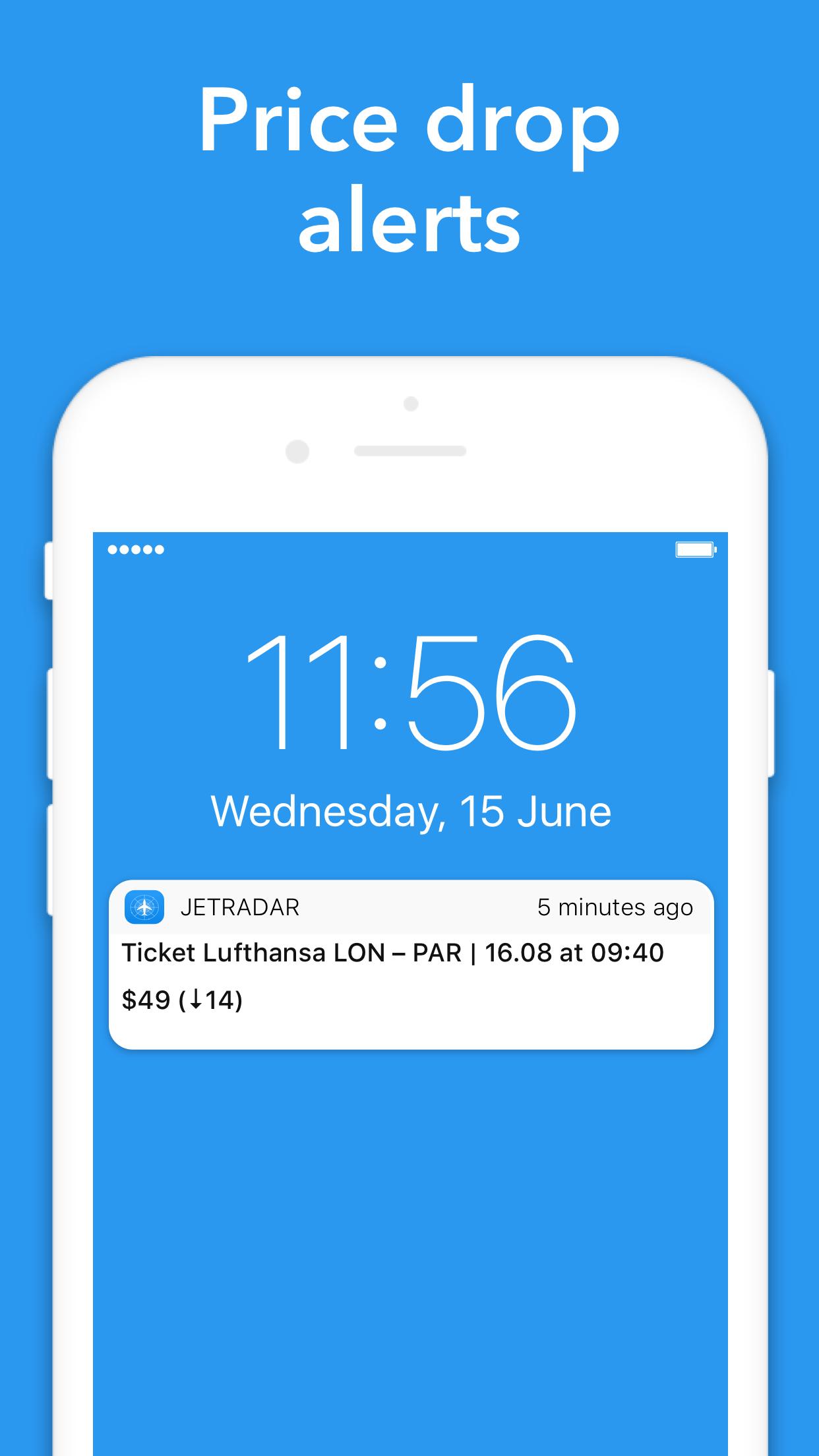 Cheap flights — Jetradar Screenshot
