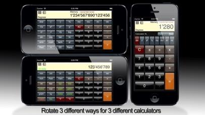 Calculator XL Standard, Scientific, Unit Converter Скриншоты3