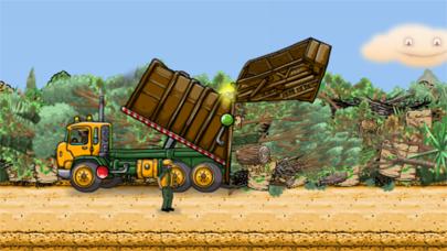 Garbage Truck: Brushy Pick Up screenshot three