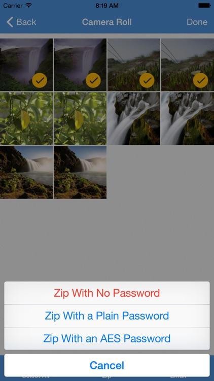 iZip - Zip Unzip Unrar Tool screenshot-3