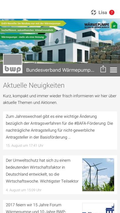 Bundesverband Warmepumpe Bwp By Tobit Software