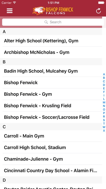 Bishop Fenwick Athletics screenshot-3
