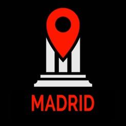Madrid Reiseführer - offline Karte
