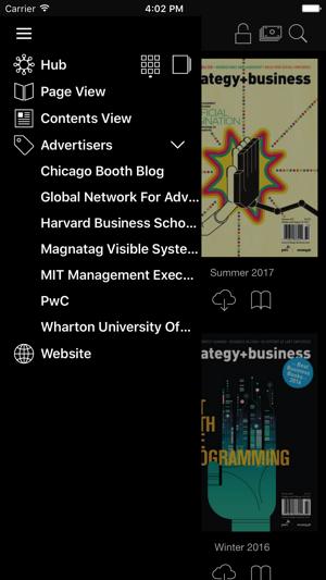 Harvard-Magazin-App