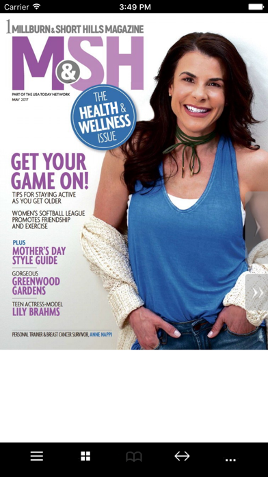 Millburn-Short Hills Magazine Screenshot