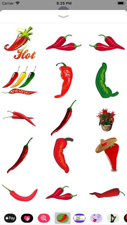 Hot Pepper Stickers