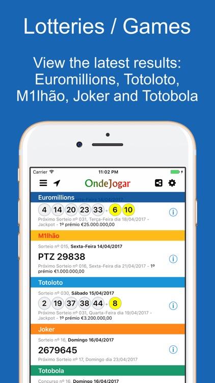 Onde Jogar: Euromillions screenshot-3