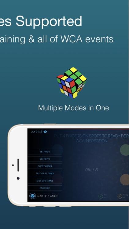 Cutimer Pro: Cube Timer Rubiks screenshot-3