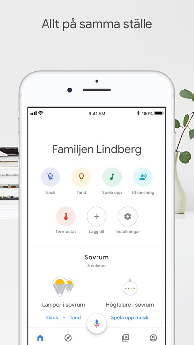 Screenshot for Google Home in Sweden App Store