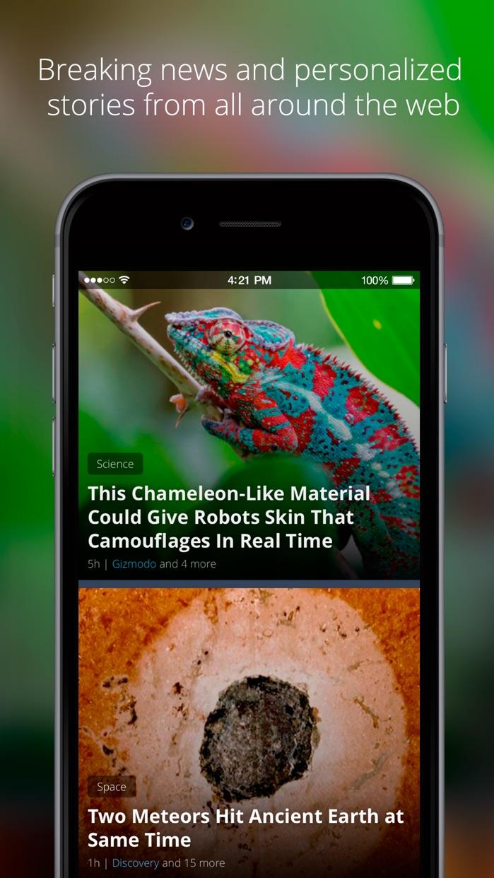 News360: Personalized News Screenshot