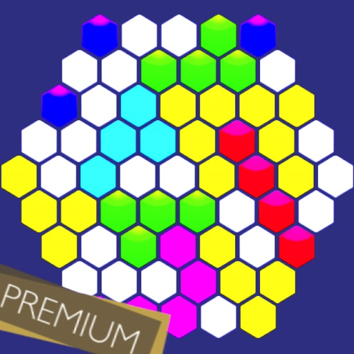 Hexagonal Merge : Premium icon