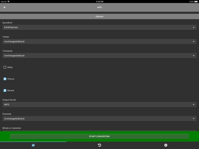 MIDI Converter on the App Store